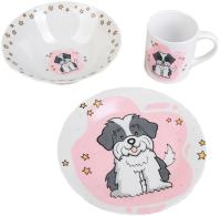 Набор столовой посуды Доляна Барбос / 4477059 (3 предмета) -