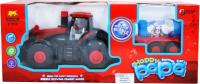 Трактор игрушечный Sima-Land Трактор Фермер / 3576237 (с мыльными пузырями) -