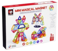 Конструктор магнитный Xinbida Мини-магический магнит / 3550063 -