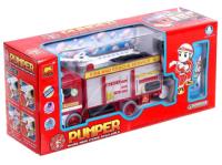 Радиоуправляемая игрушка Sima-Land Машина Пожарная служба / 4905813 (с мыльными пузырями) -