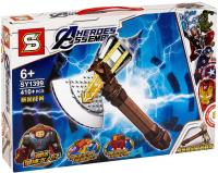 Конструктор SY Marvel Топор Тора — Гром-Секира / 1399 -