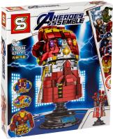 Конструктор SY Marvel Перчатка Бесконечности Железного Человека / 1400 -
