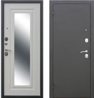 Входная дверь Юркас Царское зеркало Муар Белый ясень (86х205, левая) -