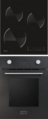 Комплект встраиваемой техники Krona Sonata 45 BL + Ombra 45 BL