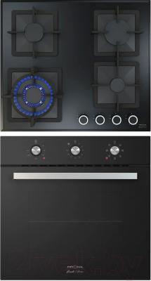 Комплект встраиваемой техники Krona Sorrento 60 BL + Calore 60 BL