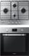 Комплект встраиваемой техники Samsung NV70M1315BS/WT + NA64H3110BS/WT -