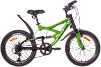 Детский велосипед Black Aqua Mount 1222 V 20 / GL-108V (зеленый/черный) -