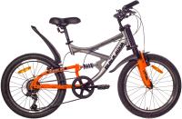 Детский велосипед Black Aqua Mount 1222 V 20 / GL-108V (серый/оранжевый) -