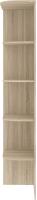 Угловое окончание для шкафа Кортекс-мебель Сенатор КМ32 (дуб сонома) -