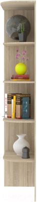 Угловое окончание для шкафа Кортекс-мебель Сенатор КМ32 (дуб сонома)