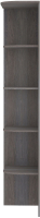 Угловое окончание для шкафа Кортекс-мебель Сенатор КМ32-45 (берёза) -