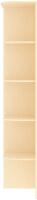 Угловое окончание для шкафа Кортекс-мебель Сенатор КМ32-45 (венге светлый) -