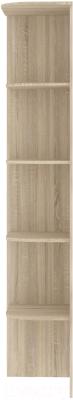 Угловое окончание для шкафа Кортекс-мебель Сенатор КМ32-45 (дуб сонома)