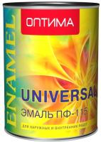 Эмаль Оптима ПФ-115 (1.9кг, желтый) -