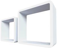 Комплект полок QWERTY Лондон / 72000 (белый) -