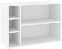 Полка Кортекс-мебель КМ 25 (белый) -