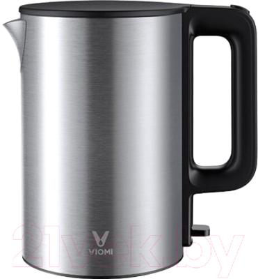 Электрочайник Viomi Mechanical Kettle / V-MK151B чайник электрический viomi viomi mechanical kettle eu plug v mk152a white global белый