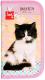 Пенал Проф-Пресс Чёрно-белый кот / ПН-0423 -