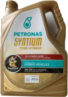 Моторное масло Petronas Syntium 7000 Hybrid 0W20 / 70289M12EU (5л) -