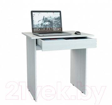 Письменный стол MFMaster Милан-2Я / МСТ-СДМ-2Я-БТ-16