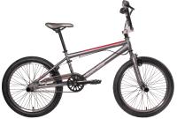 Велосипед Black Aqua Jump 1.0 20 2018 / GL-601V (серый/красный) -