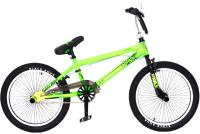 Велосипед Black Aqua Jump 1.0 20 2018 / GL-601V (лимонный/черный) -