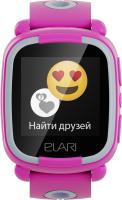 Умные часы детские Elari KidPhone Lite / KP-L (розовый) -
