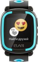 Умные часы детские Elari KidPhone Lite / KP-L (черный) -