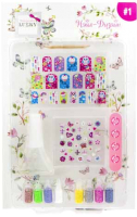 Набор детской декоративной косметики Lukky Нэйл-дизайн Бабочки / Т16791 -
