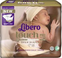 Подгузники детские Libero Touch 0 Premature 2.5 кг (24шт) -