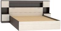 Комплект мебели для спальни Vivat Бася КМ-552 с закроватным модулем (дуб белфорд) -
