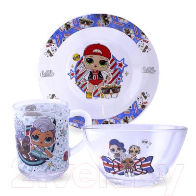 Набор столовой посуды ND Play L.O.L. Surprise! Together4eva / 284445