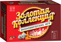 Набор игр Topgame Золотая коллекция экономических игр 4 в 1 / 01582 -