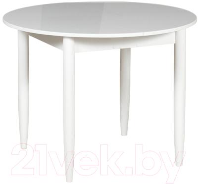 Обеденный стол Рамзес Раздвижной круглый 94-124x94