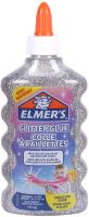 Клей силикатный Elmers Glitter Glue / 2077255 (серебристый) -