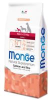 Корм для собак Monge Dog Mini Adult Salmon & Rice (2.5кг) -