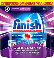 Таблетки для посудомоечных машин Finish Quantum Max (80шт) -