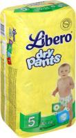 Подгузники-трусики детские Libero Dry Pants 5 Maxi Plus (32шт) -