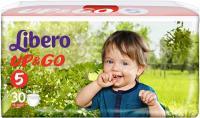 Подгузники-трусики детские Libero Up&Go Maxi Plus 5 (30шт) -