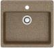 Мойка кухонная Berge BR-5750 (терракот) -
