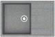 Мойка кухонная Berge BR-7603 (графит) -
