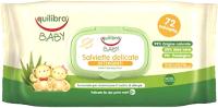Влажные салфетки Equilibra Baby нежные для детей (72шт) -