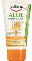 Крем солнцезащитный Equilibra Aloe c комплексом Prosun-UV SPF 50 (75мл) -