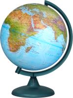 Глобус Глобусный мир Физико-политический с подсветкой / 10166 -