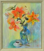 Авторская картина ХO-Gallery Кофе-пауза / ОК-2020-008 -