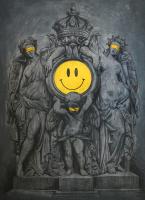Авторская картина ХO-Gallery Куриная слепота / Ц-2020-001 -