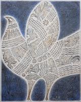 Авторская картина ХO-Gallery Белы птах / АС-2020-001 -