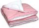 Одеяло Angellini Дуэт 8с014дб (140x205, розовый/белый) -