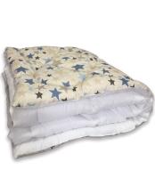Одеяло Angellini Дуэт 8с017дб (172x205, звездный/белый) -