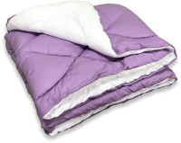 Одеяло Angellini Дуэт 8с020дб (200x205, фиолетовый/белый) -